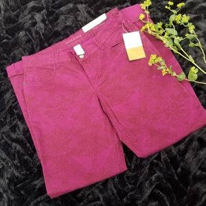 Sonoma | Modern Fit Straight Printed Pants - NWT